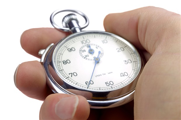Reverse countdown to sleep